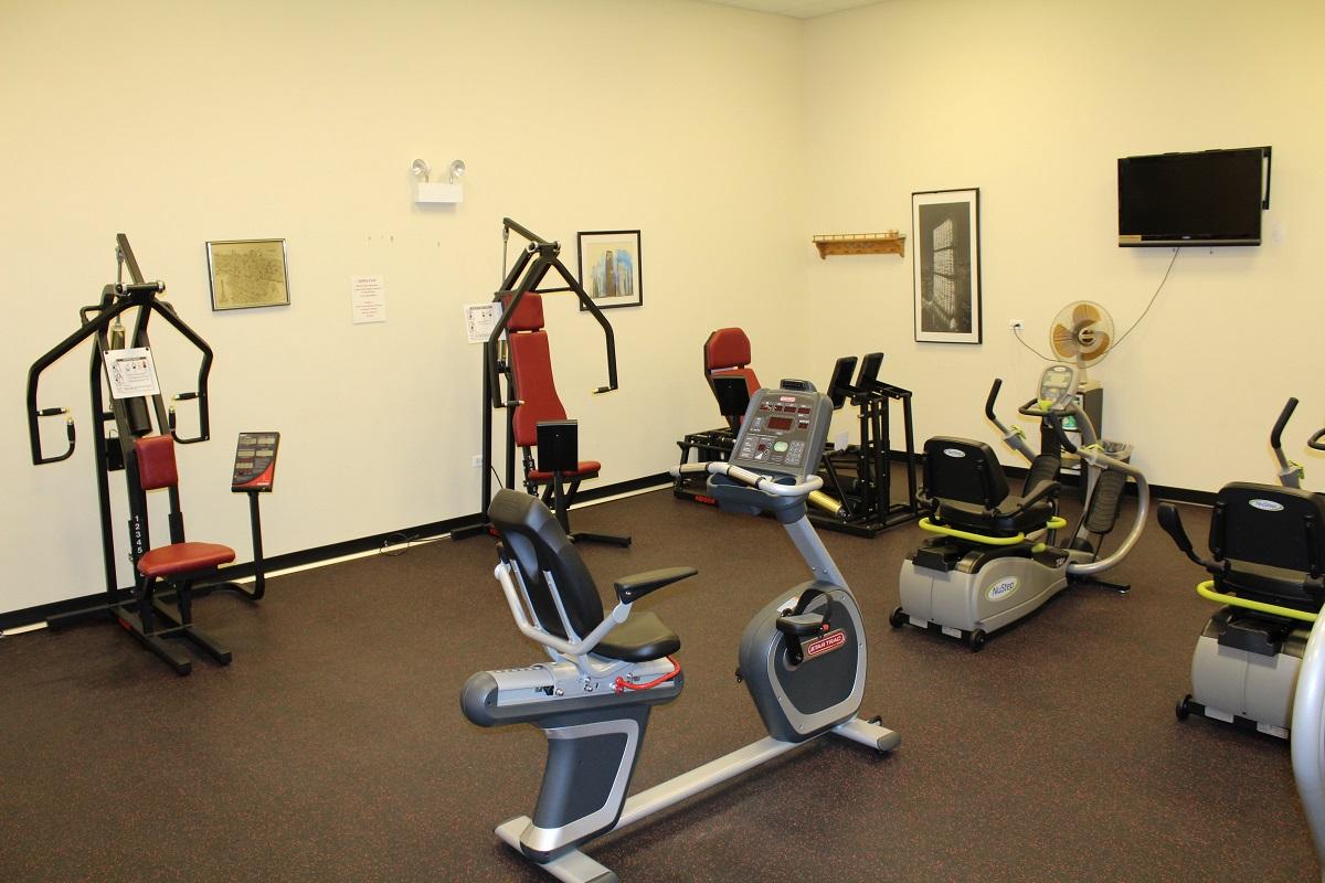 Frisbie Senior Center Exercise Fitness Facility 2