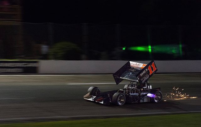 Wing Wednesday! Chris Perley ticking all the boxes here. August 9th with the ISMA Super Modifieds can't come soon enough! #isma #supermodified @ismasupers