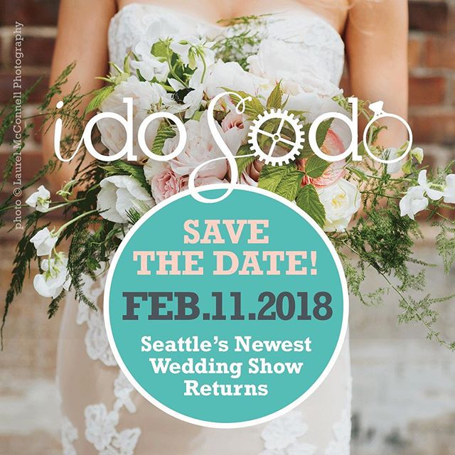 Come see us this Sunday, February 11th @idosodo !! We'll be leading the team at Metropolist and have an amazing group of vendors for you to meet. Get your tickets now with the link in my bio – $25 each of purchase in a pair. Can't wait to see you there!! ..... Venue: @metropolist_  Caterer and Bar: @duoscatering  Photographer: @wiley.putnam  Videographer: James Austin Films Floral Design: @londonplaneseattle  DJ: @bamboobeatsdj  Wedding Cake: @midoribakery1  Bridal Attire: The Wedding Suite @nordstrom  Desserts: @jennycookiesbakeshop Photo Booth: @radiantphotobooths  Espresso: @espressoelegance  Calligraphy: @pinkbypeach  Live Painting: @samdayweddingpainter  Specialty Rentals: @classicvintagerentals  Rentals: @cortpartyrental  Draping: @propgalleryevents  Hotel: @thelodgesonvashon —— #idosodo2018