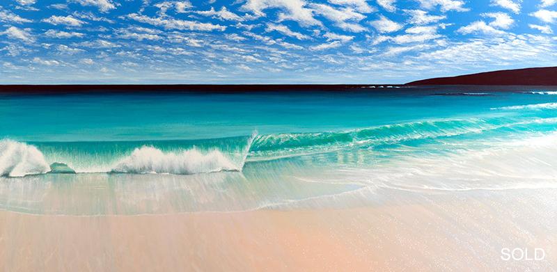 A Beautiful Wave, Smiths Beach, 122x76xcm