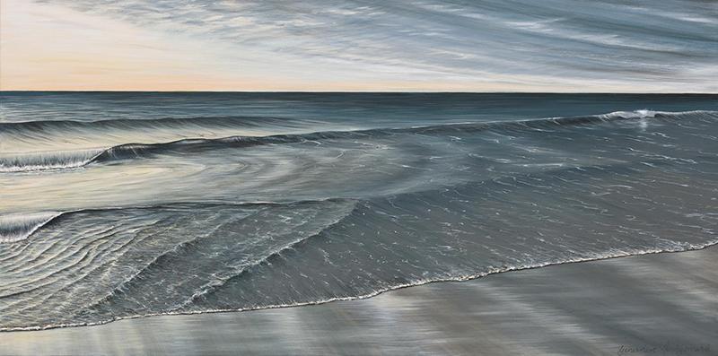 Silken Water,  152cm x 76cm