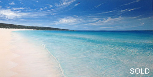Serenity at Smiths, 180x90cm - SOLD