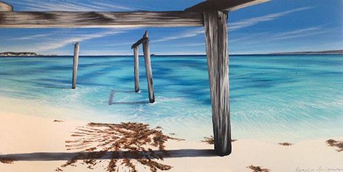 Hamelin Bay Mesmerising, 152x76cm