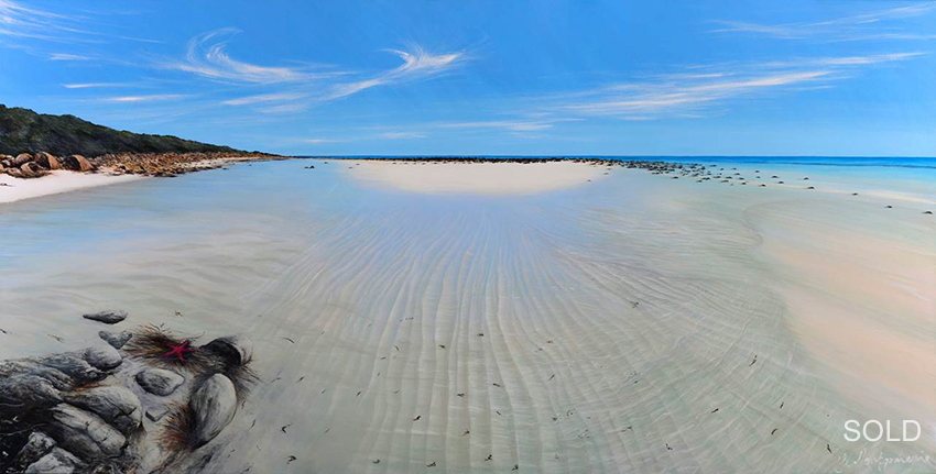 Eagle Bay,  180 x 90cm