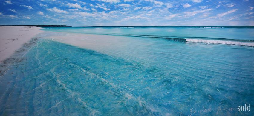 Sandbank Geographe Bay, 180x90cm