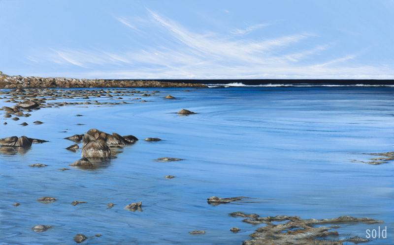 Gulls and Rocks - Yallingup   2012   122x76cm   SOLD