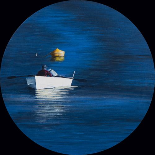 Is his boat broken Mamma - 30cm - Acrylic on canvas 2011
