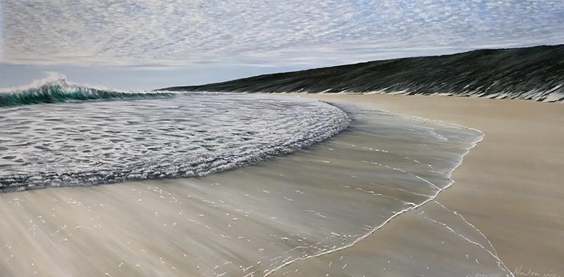 Untouched - Yallingup Acrylic on canvas 152x76cm.JPG