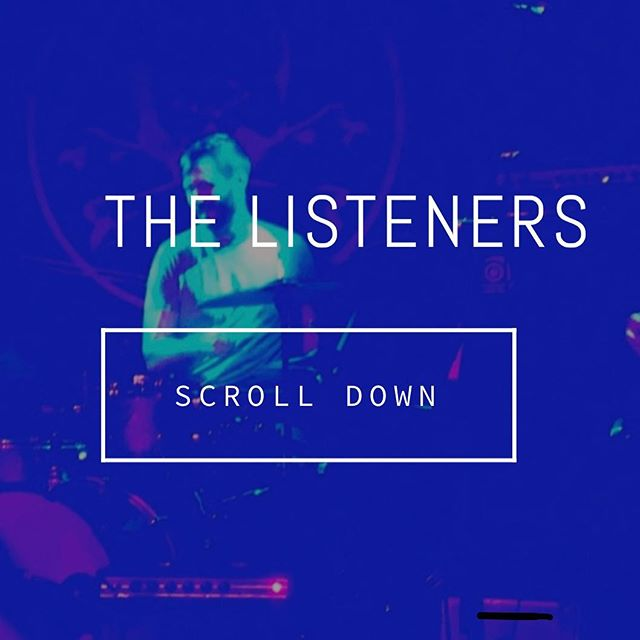 New website with music, T-shirts, etc. Check it. https://www.thelisteners.biz