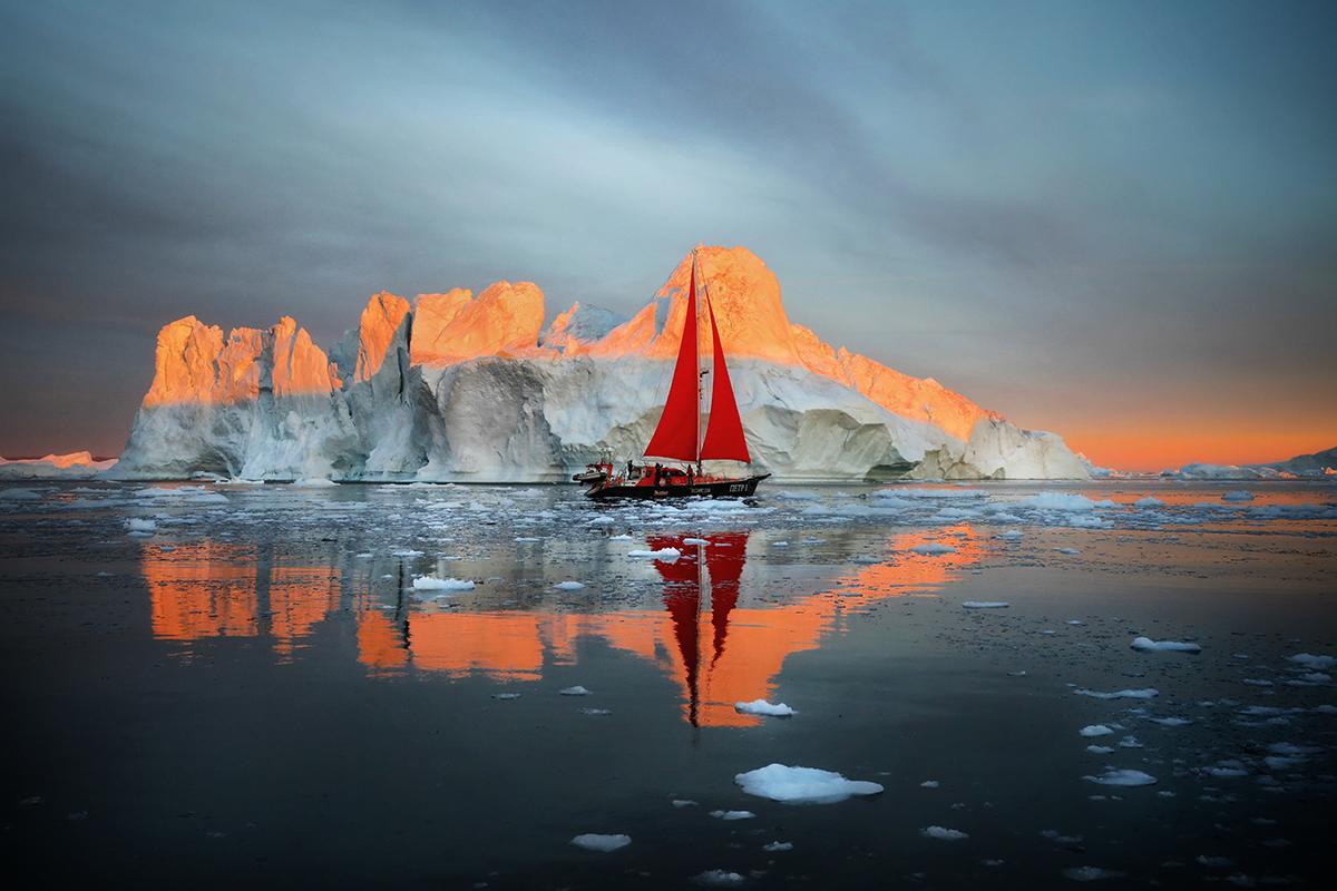 Sailing Through Icebergs