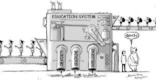 An image from a talk by Sir Ken Robinson on breaking down old paradigms around education.