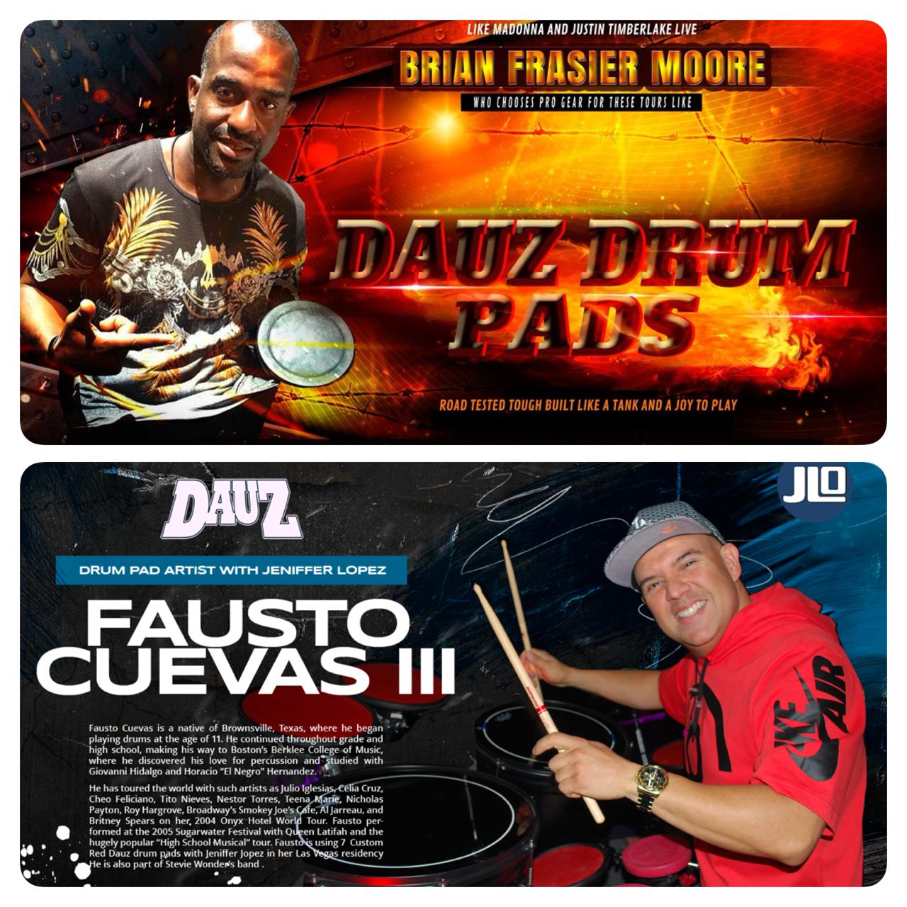 BRIAN FRASIER MOORE & FAUSTO CUEVAS III