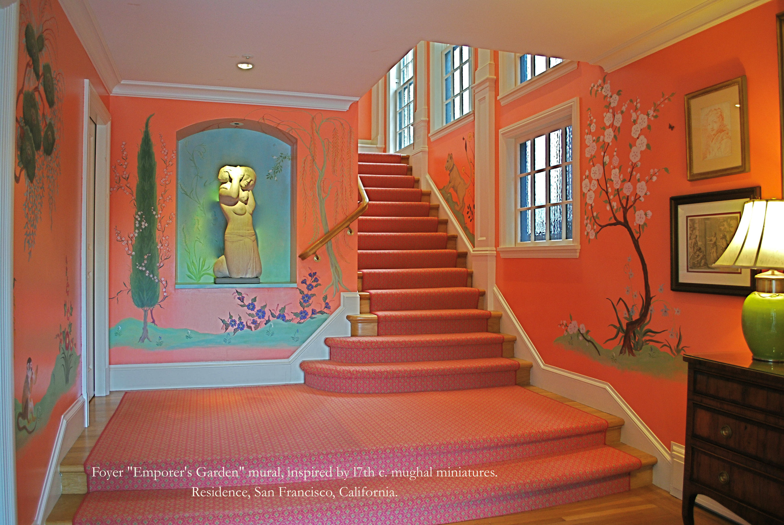 "'""Emperor's Garden"", San Francisco, CA  Angela Tirrell — Master Muralist"