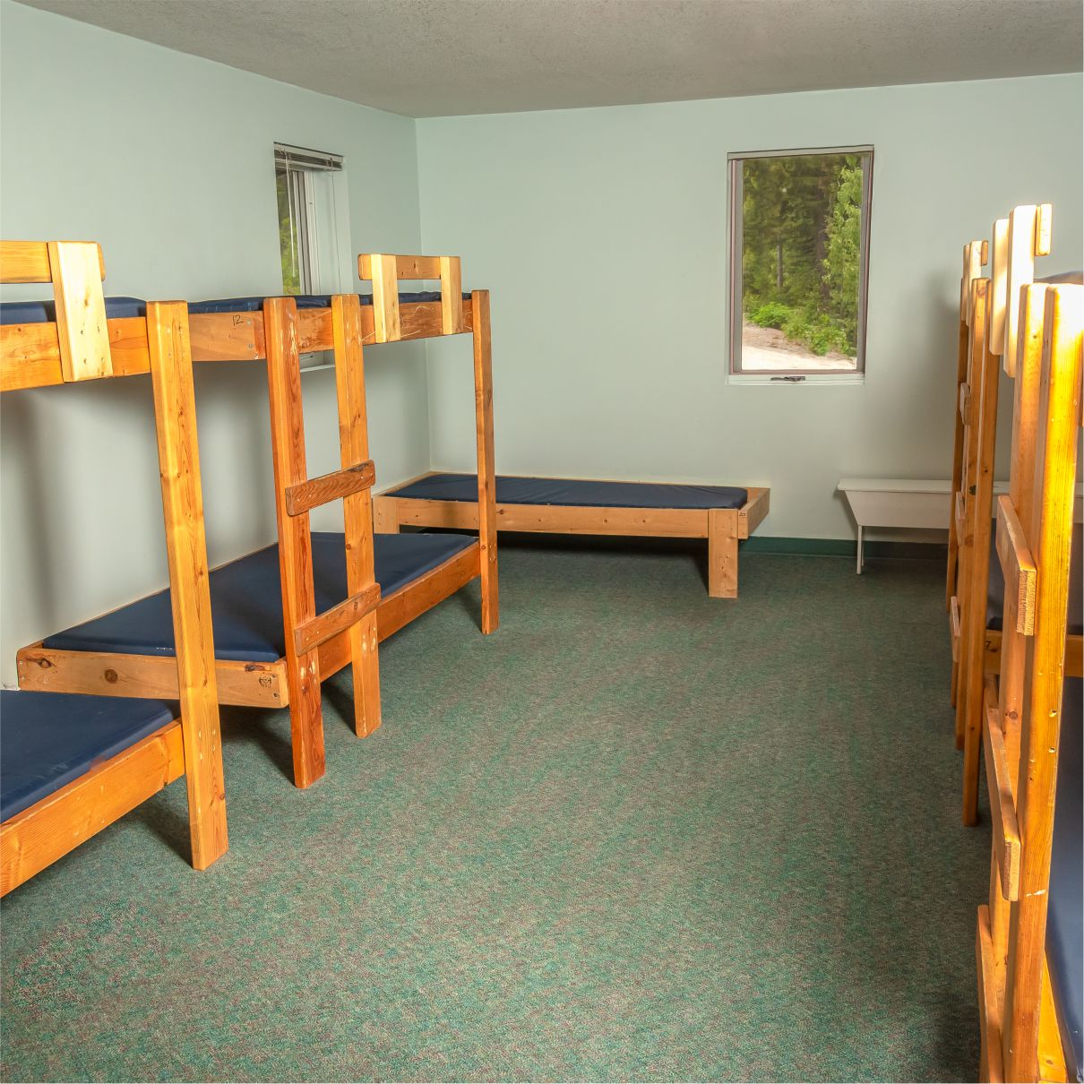 Island Lake Christian Retreat Centre has several dormitories for sleeping accommodations