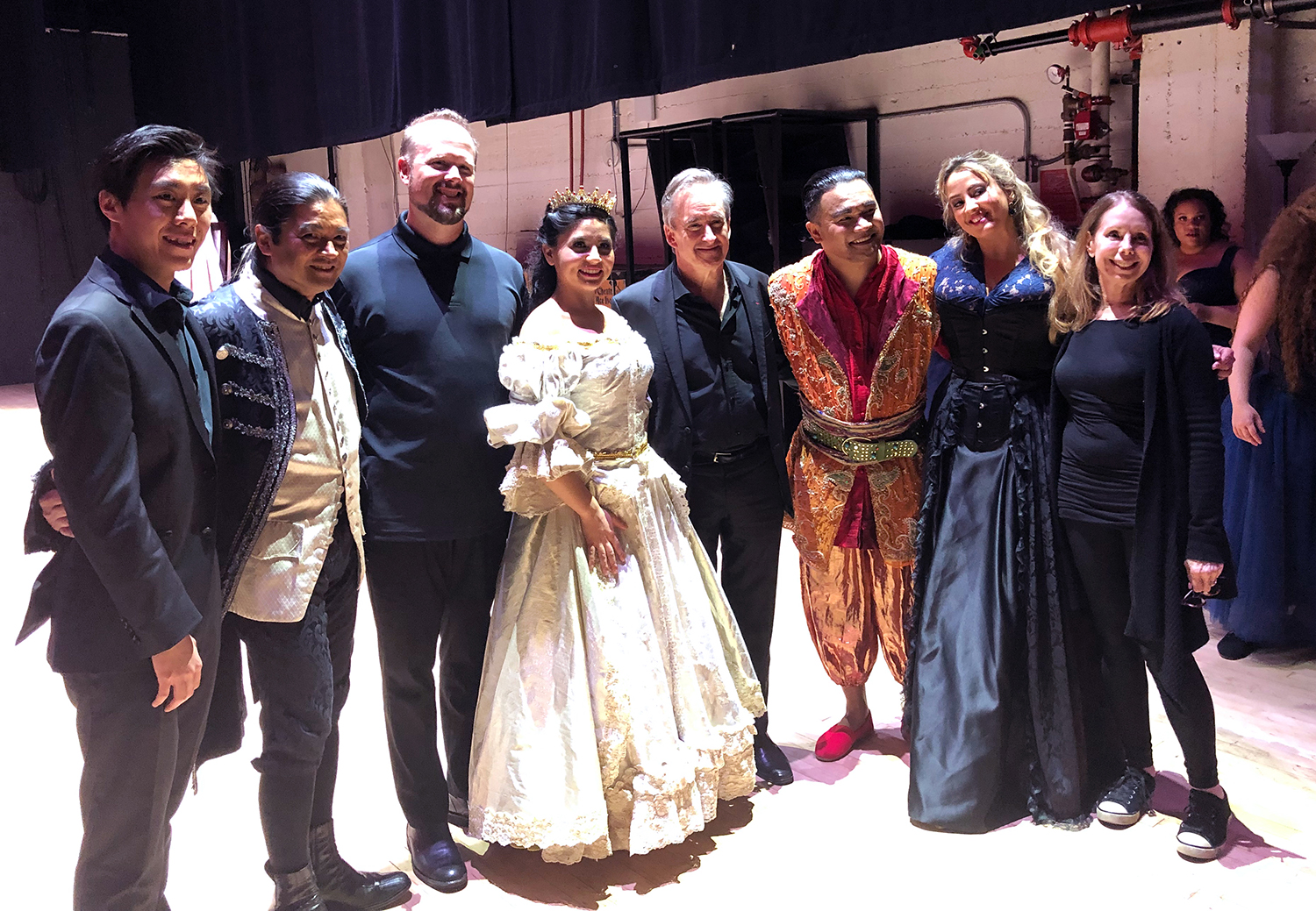 James Conlon  with  Gail R. Gordon  and the Cast of   Der Zwerg