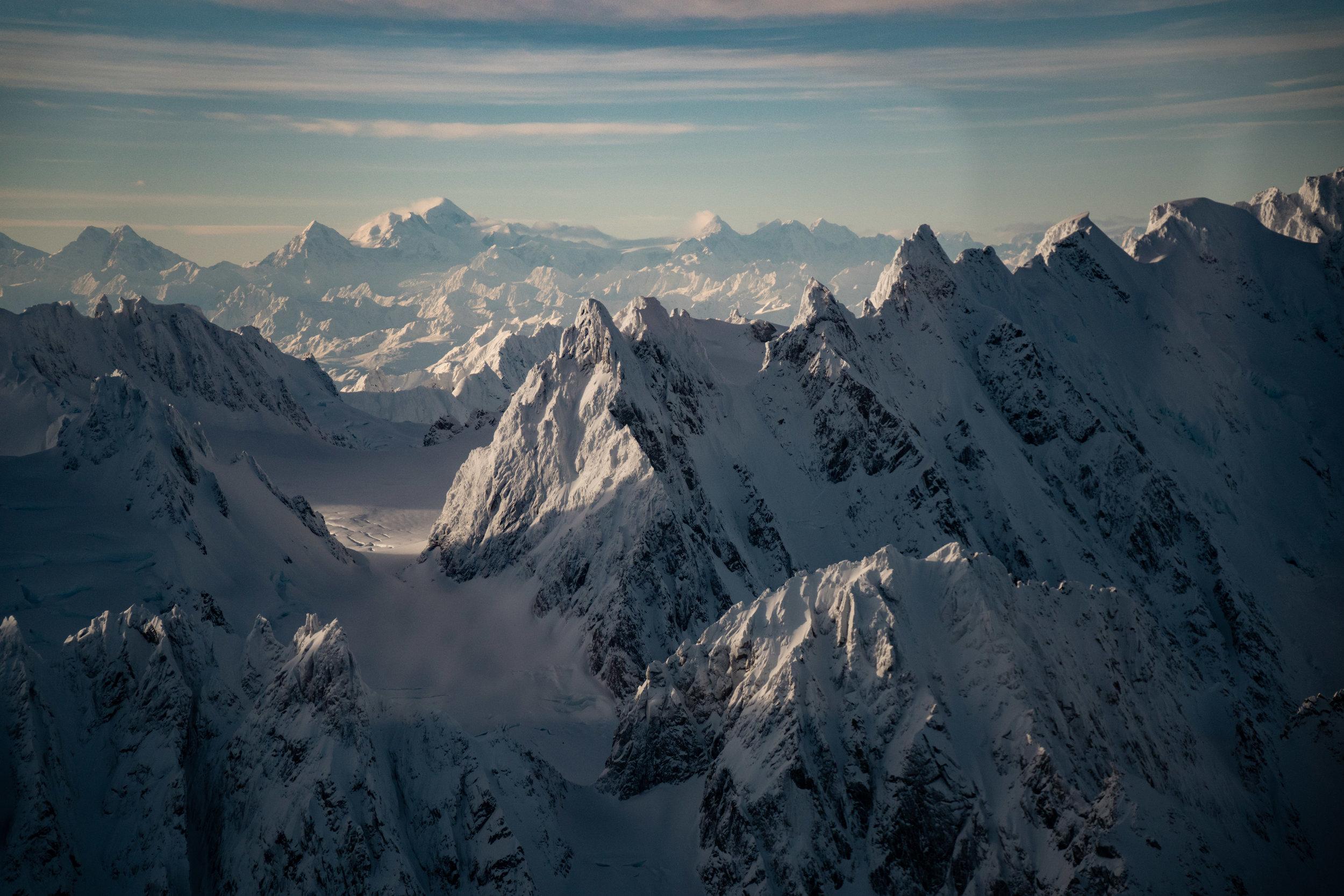 Mountains near Haines Alaska   Photo - Colin Arisman