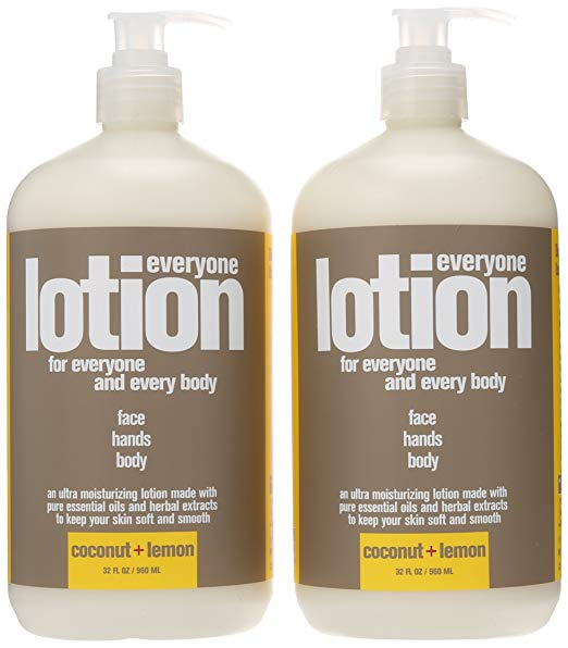 EO Coconut + Lemon Body Lotion - This is my go to daily lotion. It's a pure basic lotion free from petrochemicals.