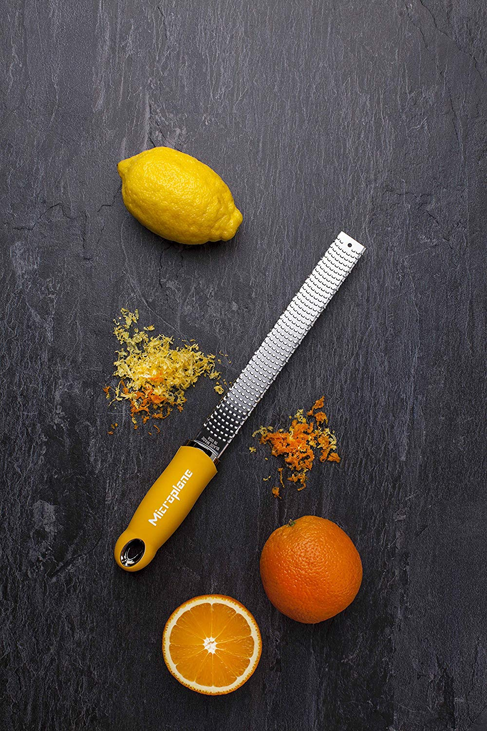 Yellow Microplane Lemon Zester - I got this lemon zester a few years ago and it has been my go to zester for all things citrus. I use it for my Lemon Keylime Bars!