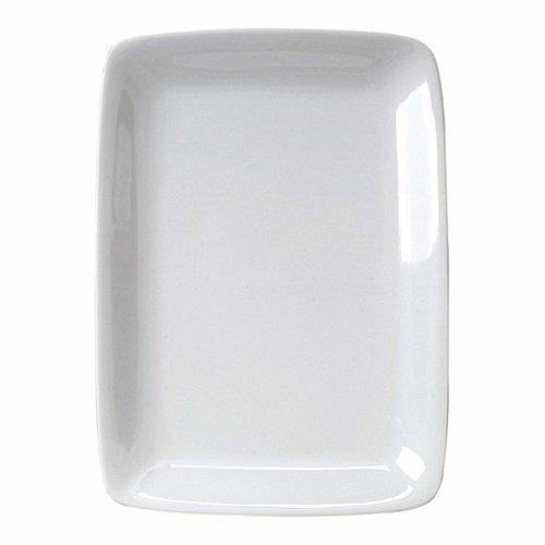 14 Inch White Porcelain Rectangular Platter