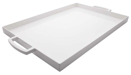 White 19.5 inch Large MeeMe Serving Tray