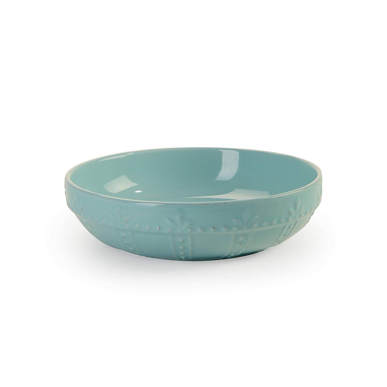 Aqua Sorrento Set of 4 Bowls 8-Inch