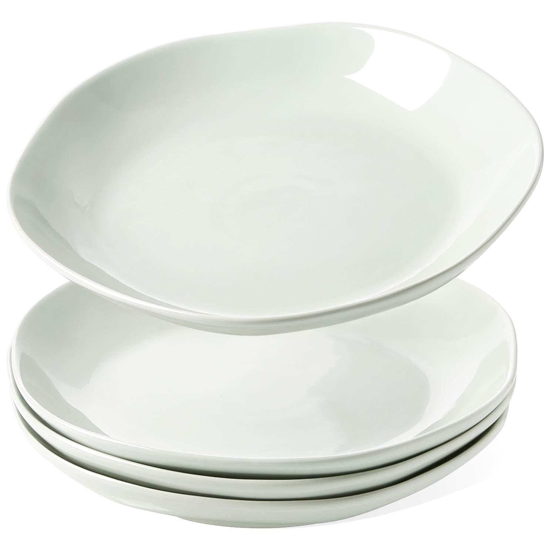 Smoke Blue Le Tauci 10 Inch Ceramic Bowls Set of 4