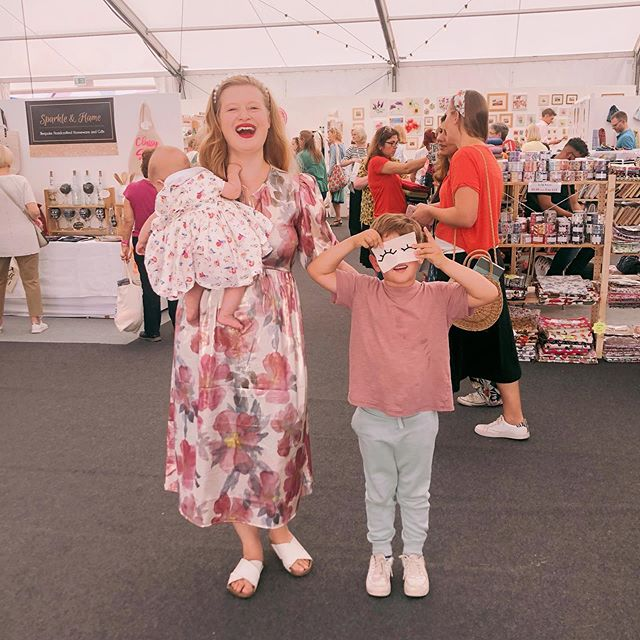 ALL THE FUN OF THE FAIR Thank you @thehandmadefestival for having the whole family today, we had a lovely afternoon catching up with some of our crafty buddies... we will be bringing @makebox.co to the show next year, can't wait 💓 #thehandmadefestival #memade #mymakebox #instacraft #mumfashion #mumtrepreneur