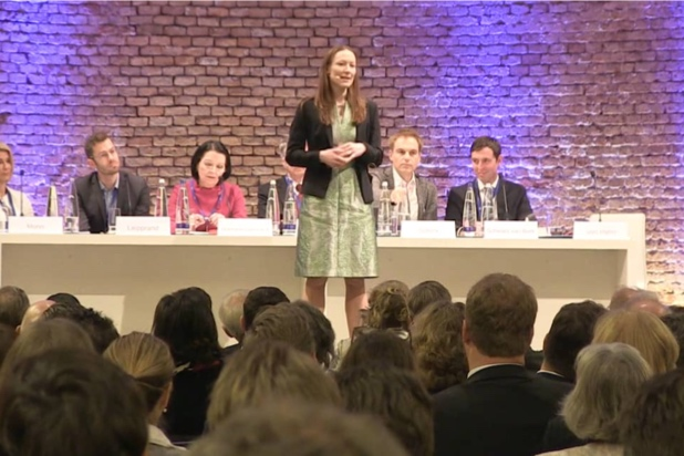 Caring Culture and Mindfulness - Svea von Hehn on the topic of caring culture and mindfulness at the ceremony marking 20 years of P+P in Munich in February 2018