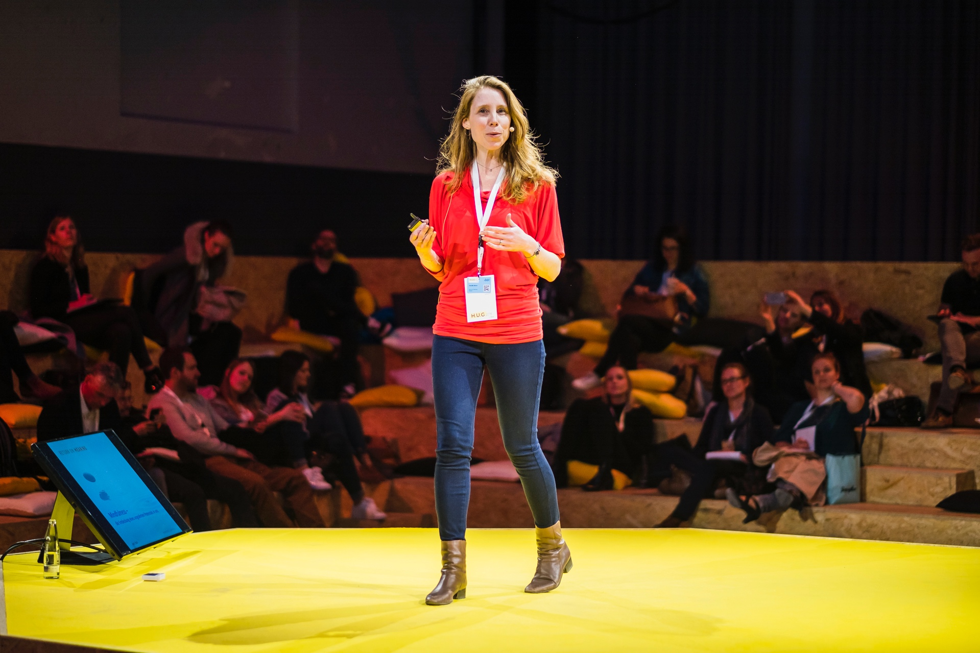 Mindfulness – a silver bullet in companies? - Claudia Braun on mindfulness in companies at the H.U.G. conference 2019 in Munich