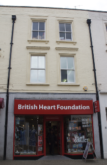 British Heart Foundation in Silver Street