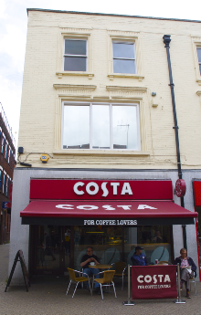 Costa Coffee in Silver Street