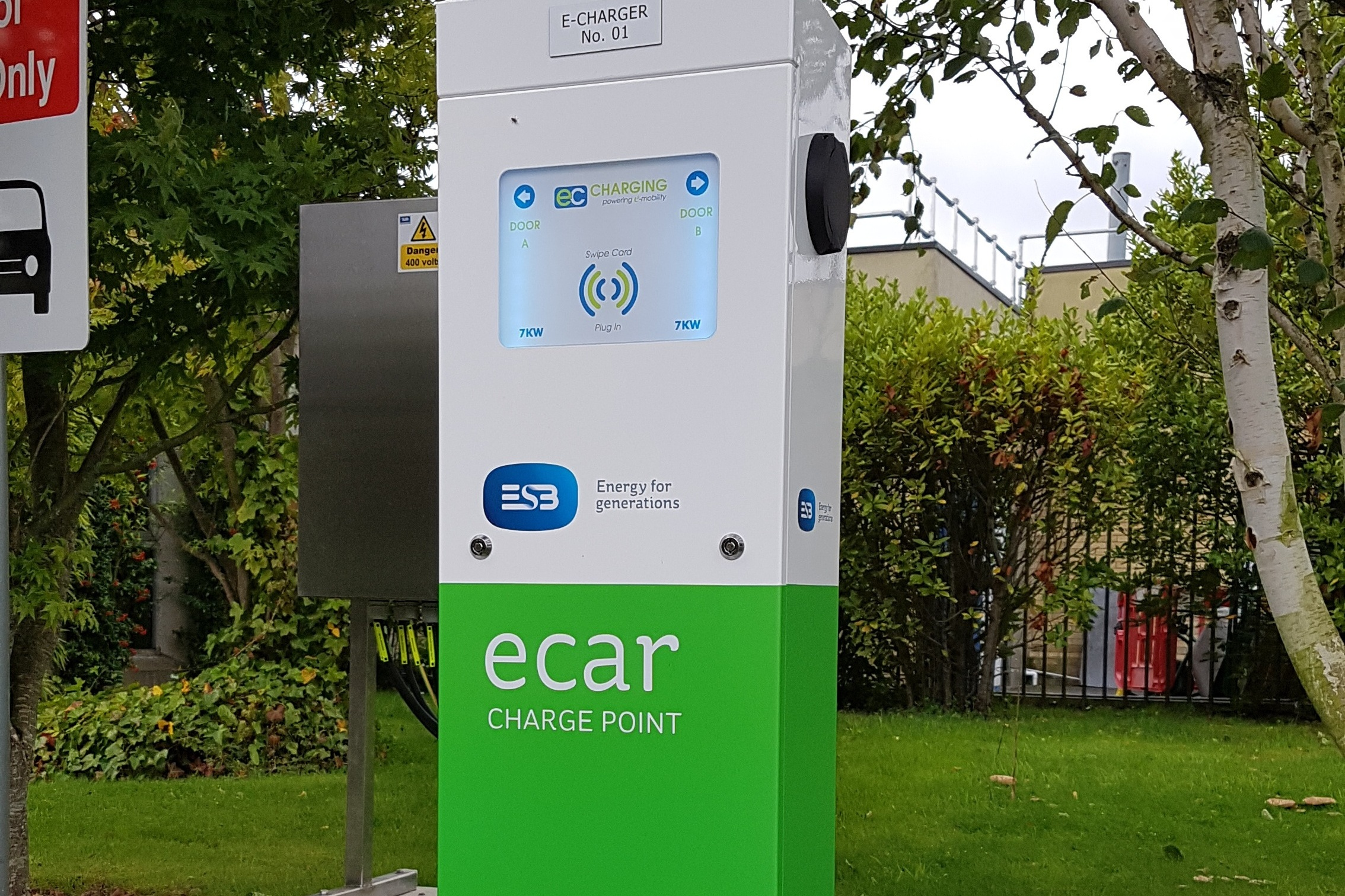 EC Charging & ESB ecars - EC Charging & ESB ecars have enjoyed a long and productive relationship since its foundation in 2010 with the roll out of a national infrastructure of electric car charging stations. This groundbreaking project earned EC Charging an international reputation for innovation, quality and reliability.