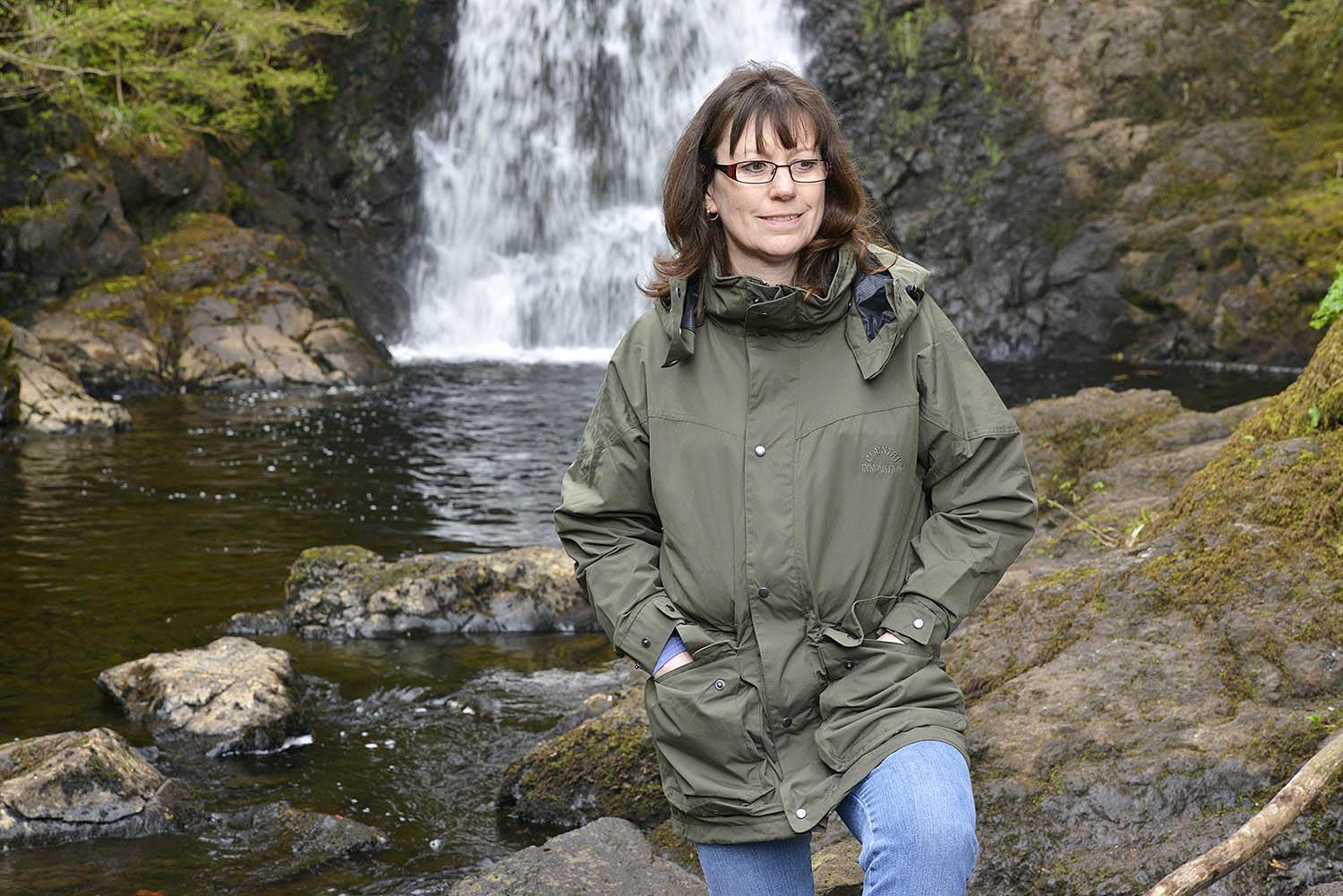 BPOTY Director Jennifer North was impressed by the quality, look and performance of Country Innovation's Lady Linnet jacket on a recent field trip to the Isle of Skye.