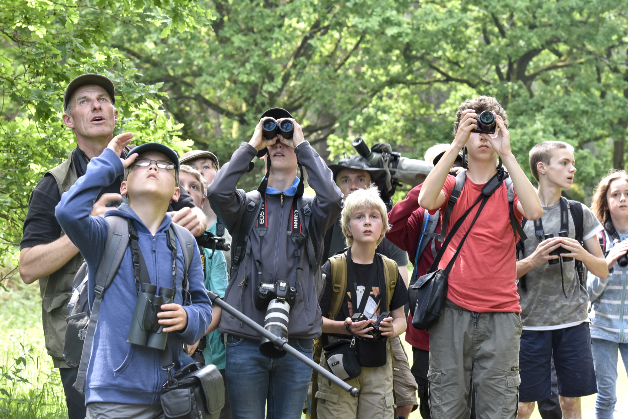 Funds from previous BPOTY competitions have been used to support the BTO Bird Camp programme, designed to encourage interest in ornithology and the natural world in the younger generation.