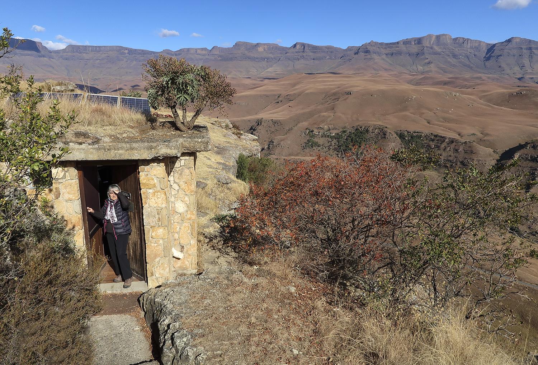 Old Vulture Hide, Giants Castle Nature Reserve. ©Rosamund Macfarlane