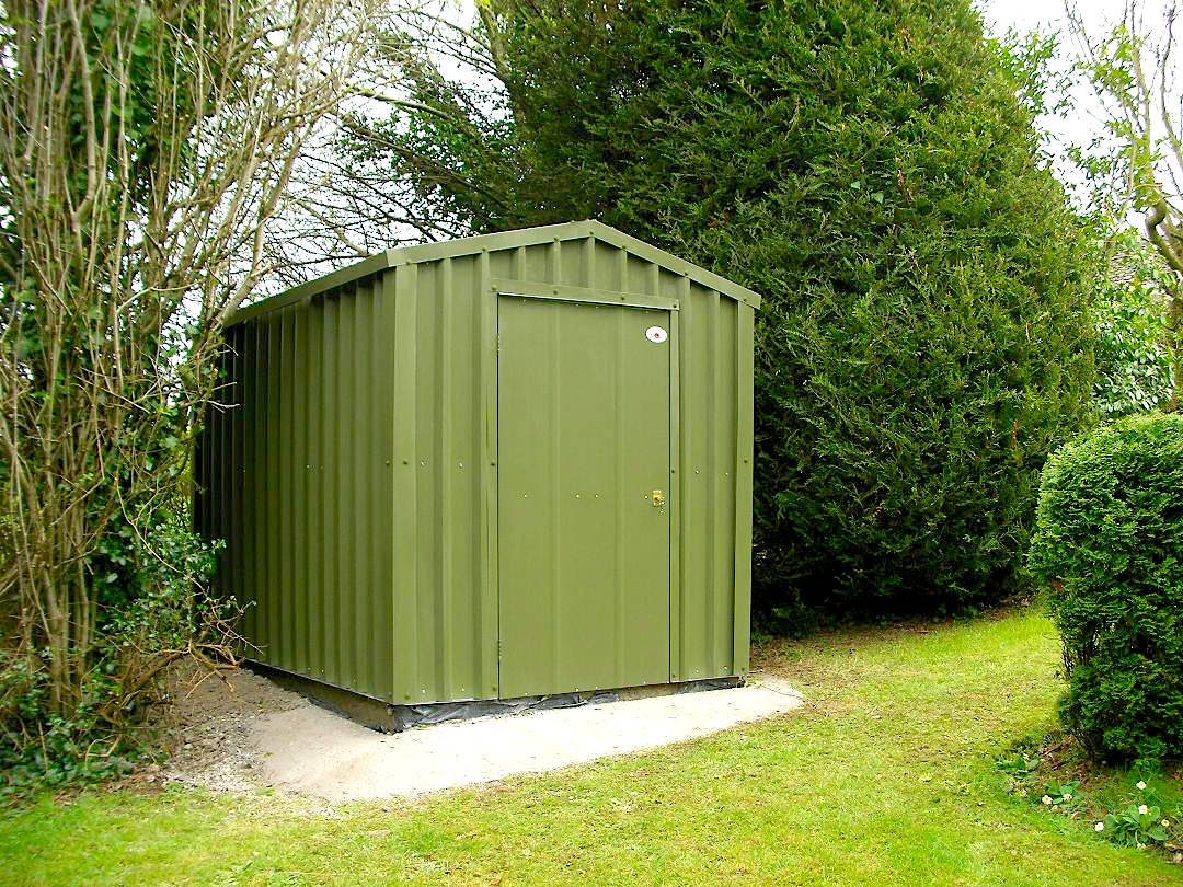 Choose from our range of Steel Garden Shed sizes: - 4.0m² - 2.0mt Width x 2.0mt Length x 2.0mt Eve6.0m² - 2.0mt Width x 3.0mt Length x 2.0mt Eve8.0m² - 2.0mt Width x 2.0mt Length x 2.0mt Eve9.0m² - 3.0mt Width x 3.0mt Length x 2.0mt Eve10.0m² - 2.0mt Width x 5.0mt Length x 2.0mt Eve12.0m² - 3.0mt Width x 4.0mt Length x 2.0mt Eve15.0m² - 3.0mt Width x 5.0mt Length x 2.0mt Eve18.0m² - 3.0mt Width x 6.0mt Length x 2.0mt Eve