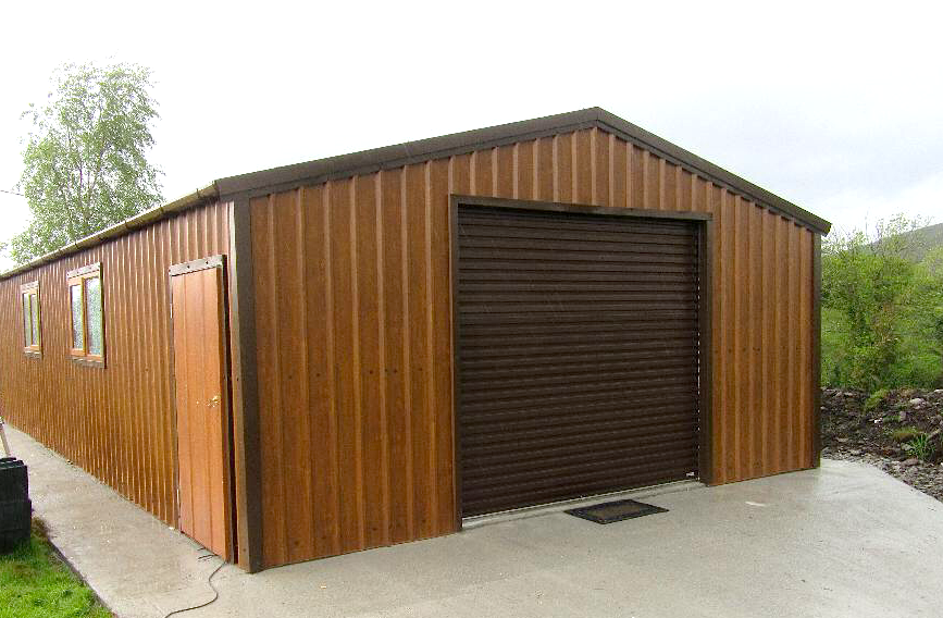 100% Quality Galvanized Steel - √ 0.5mm, PVC Coated Cladding With Lifetime Guarantee√ Full Range of Colours To Choose From√ Safety Edged Flashings Included√ Anti-Con Lining To Absorb Condensation√ All Screws Capped