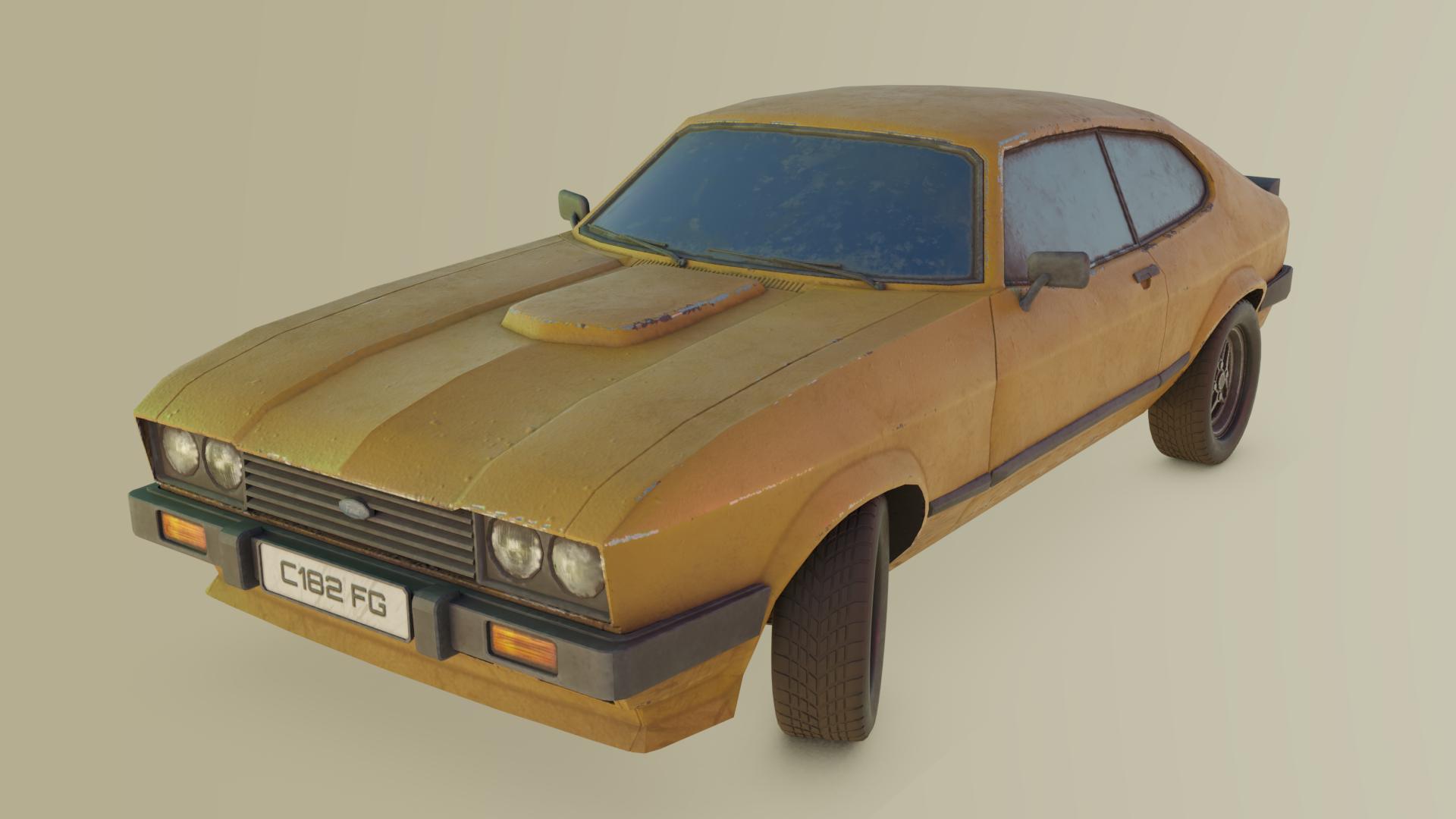Ford Capri Mk3 -