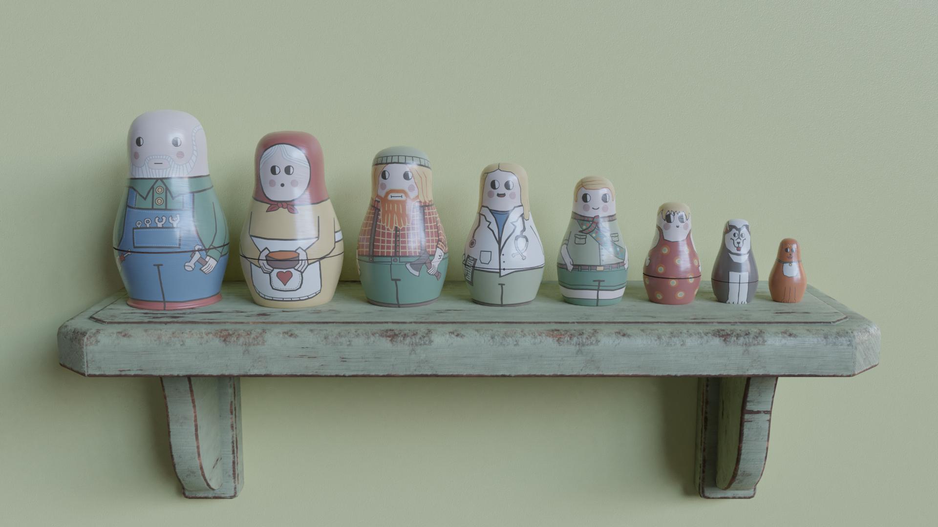Nesting Dolls -