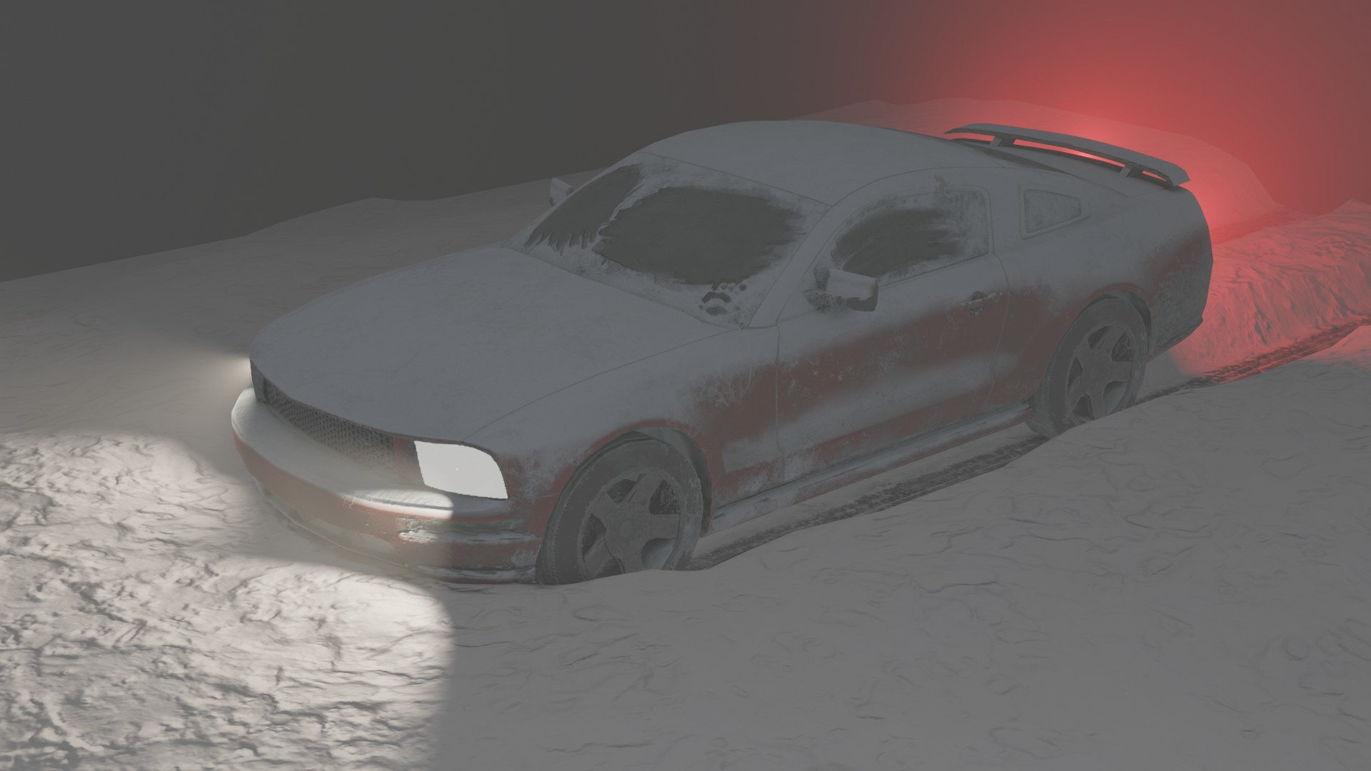Sports Car - Texturing Challenge -