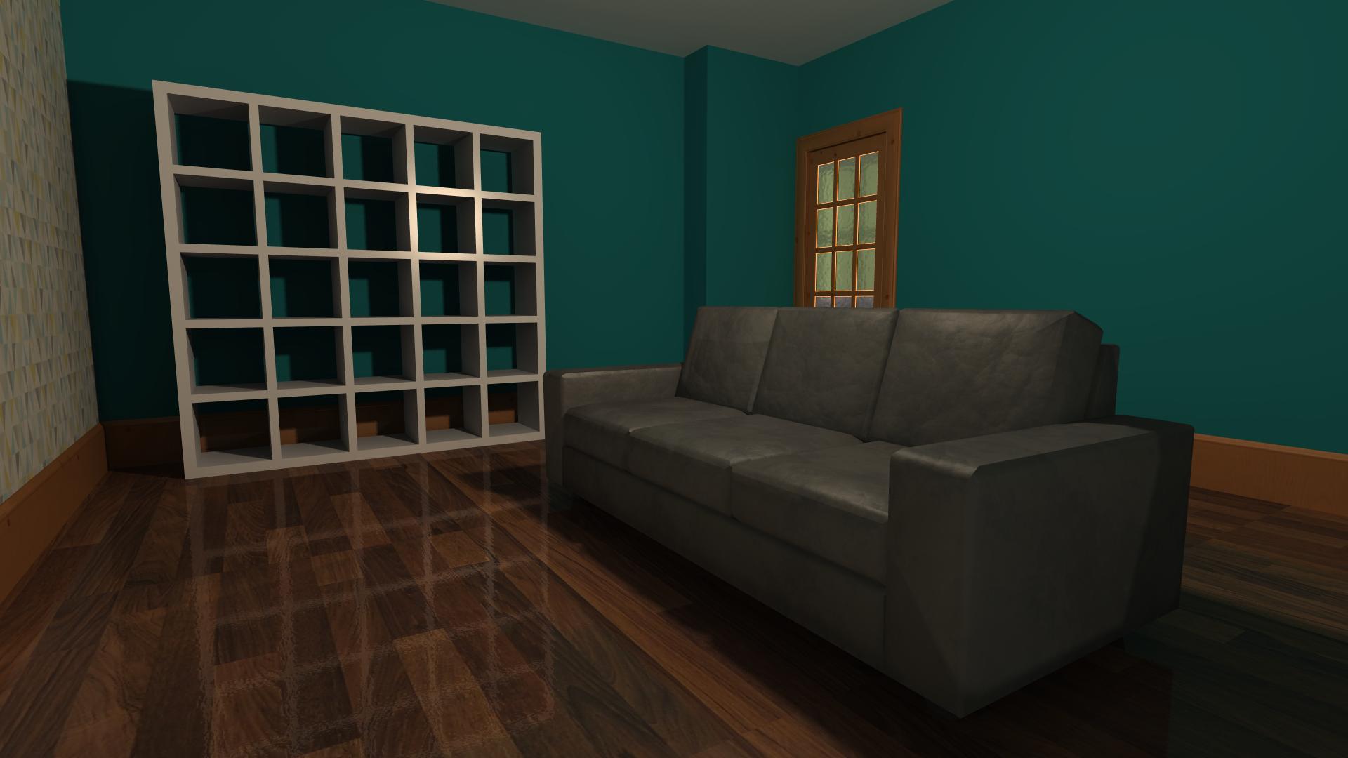 Living Room - Lightwave