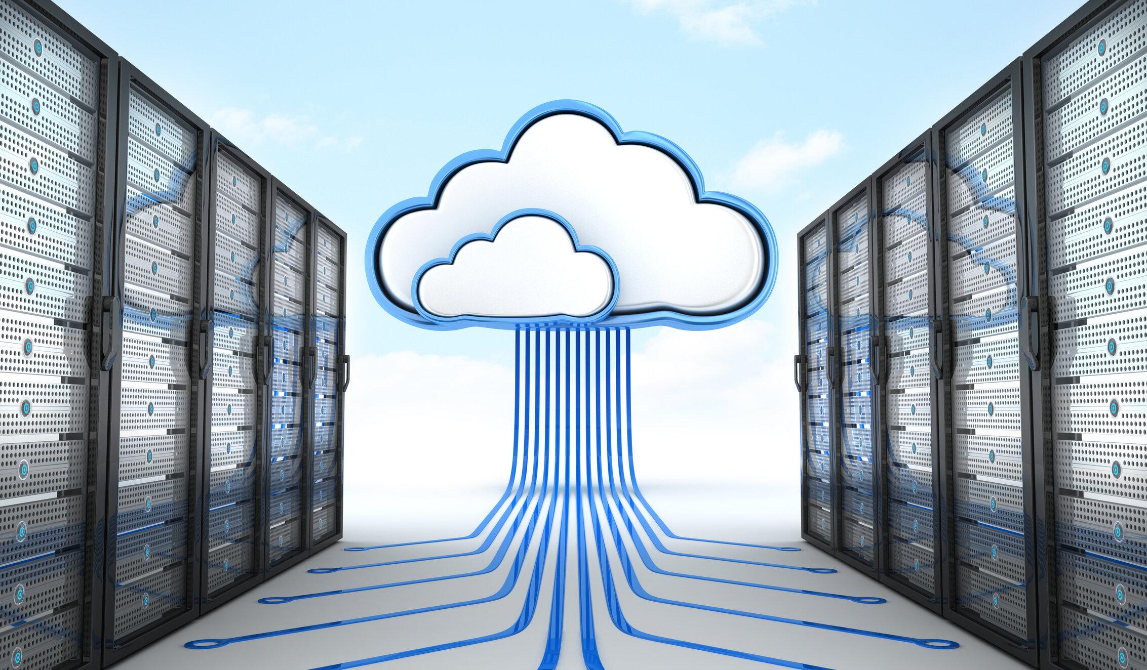 Server and cloud-based computing