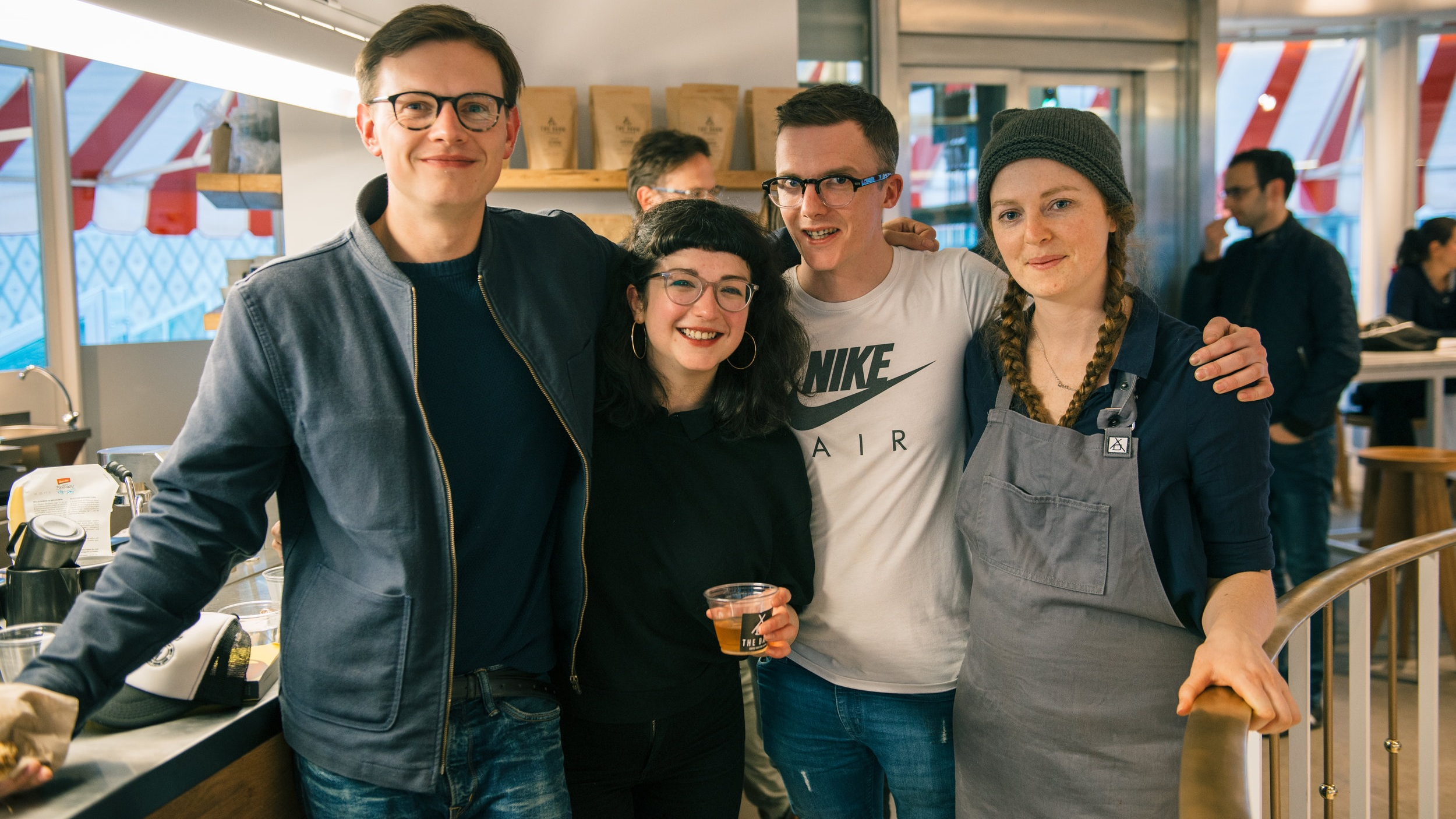 Colab: Berlin, 2017 Picture left to right, Stuart Ritson, Susie Kealey, Stephen Houston and Maddy Kinmond.