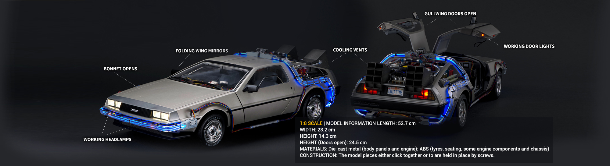 Build the Back to the Future DeLorean