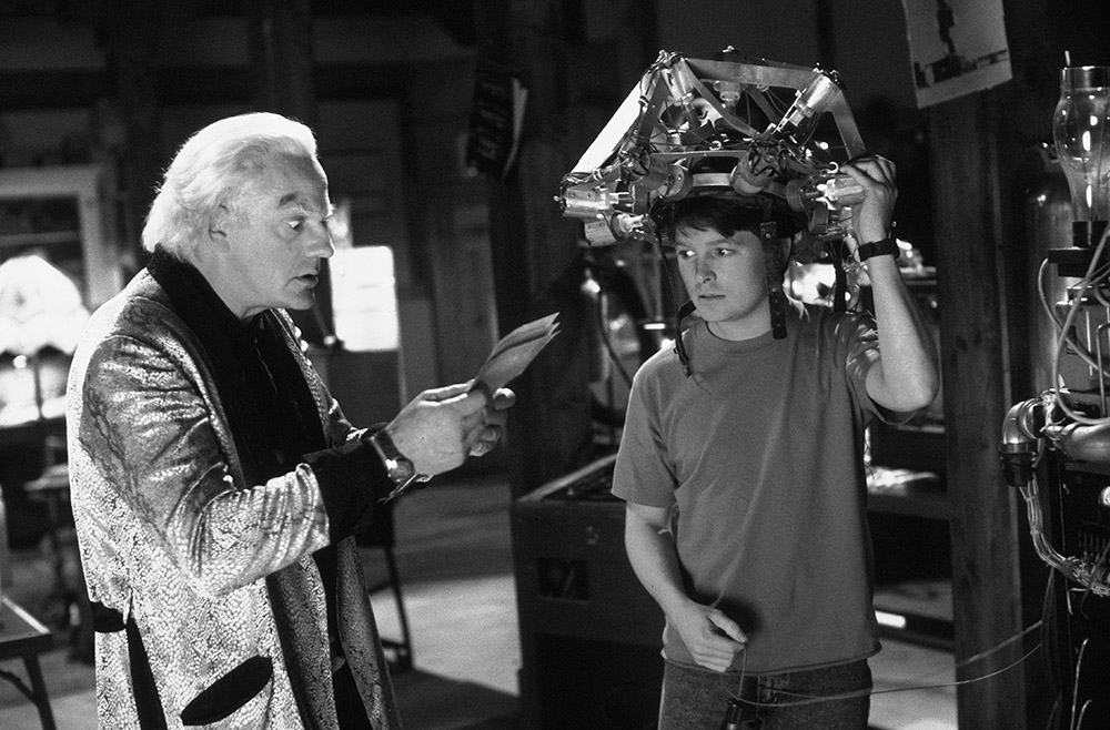 Doc and Marty have many questions about the past and future. Fortunately, Bob Gale and Bob Zemeckis gave them both bright futures.