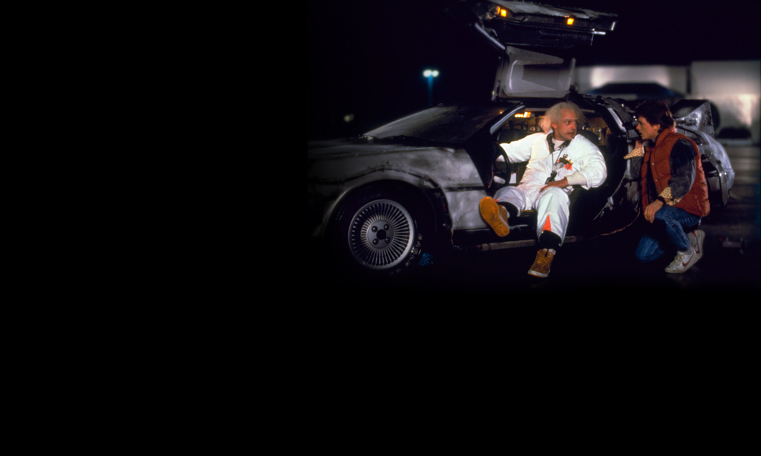 Back To The Future Wallpaper 14225 Wallpaperesque