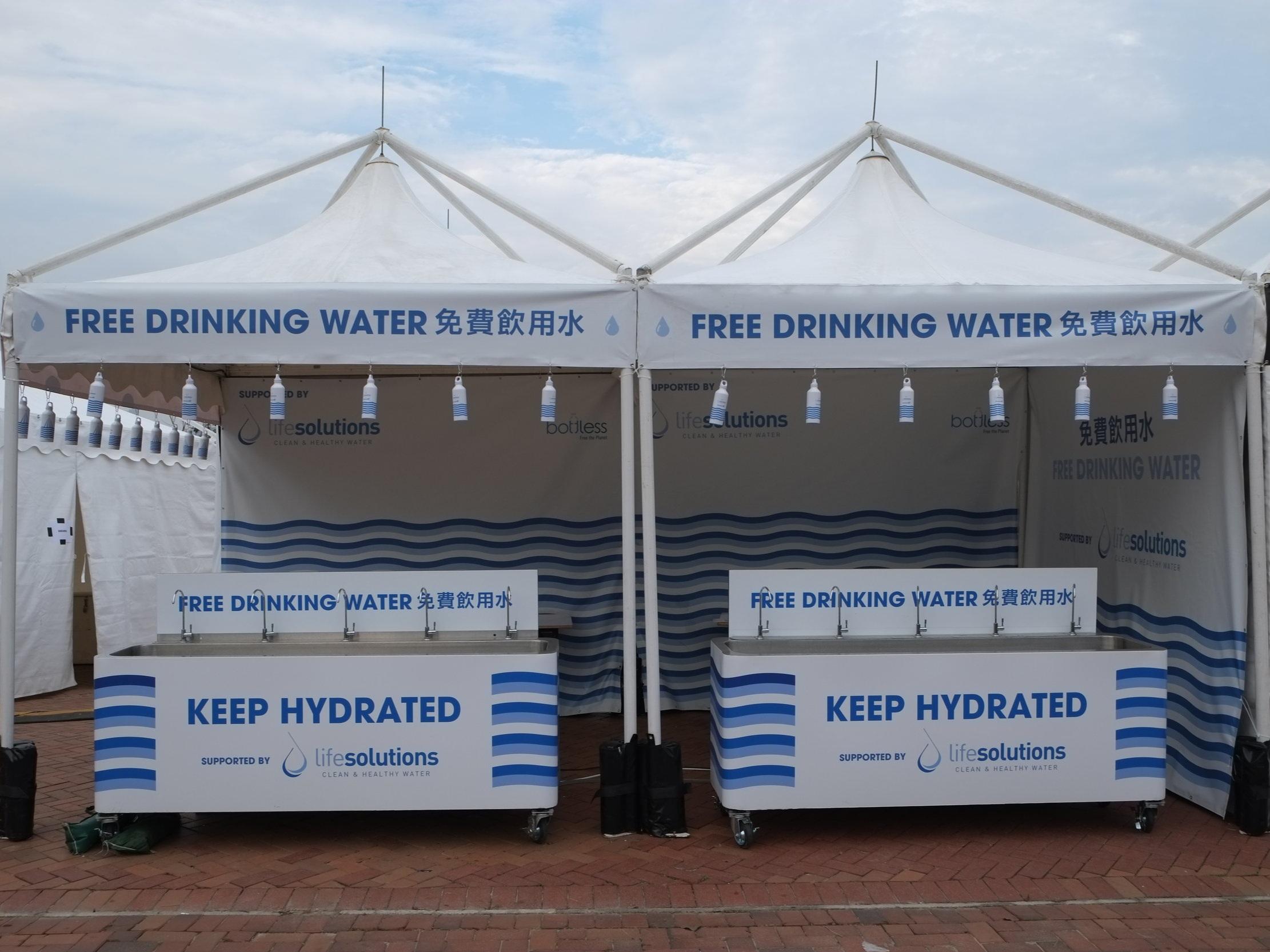 - No Single USe Water
