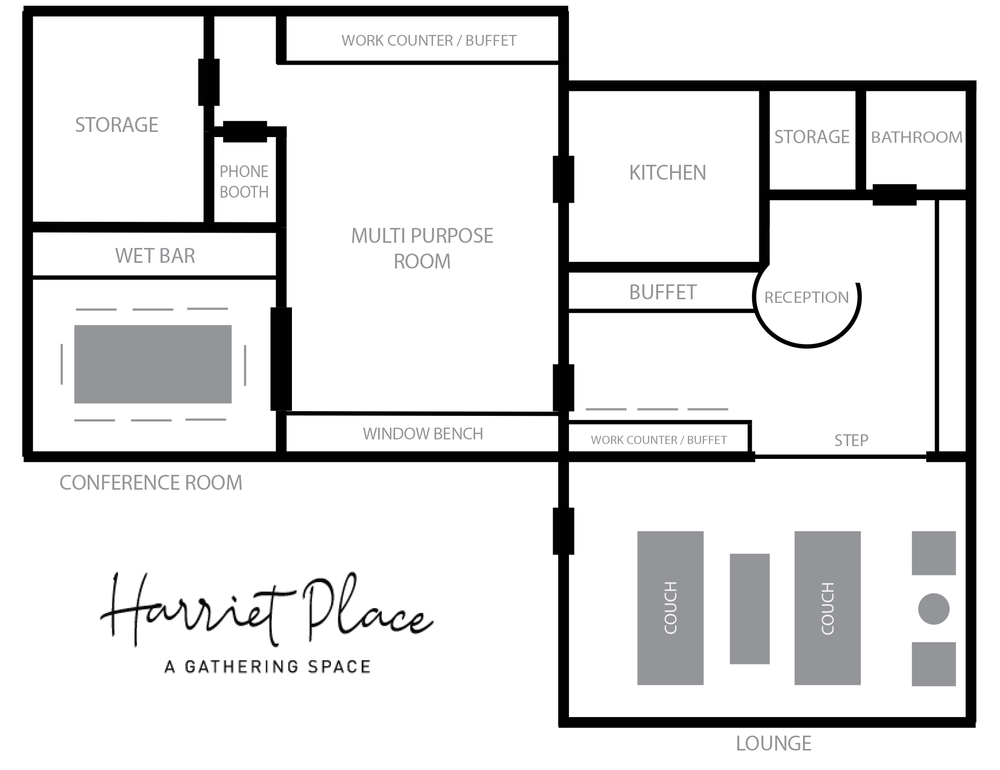 Floor Plan Harriet Place