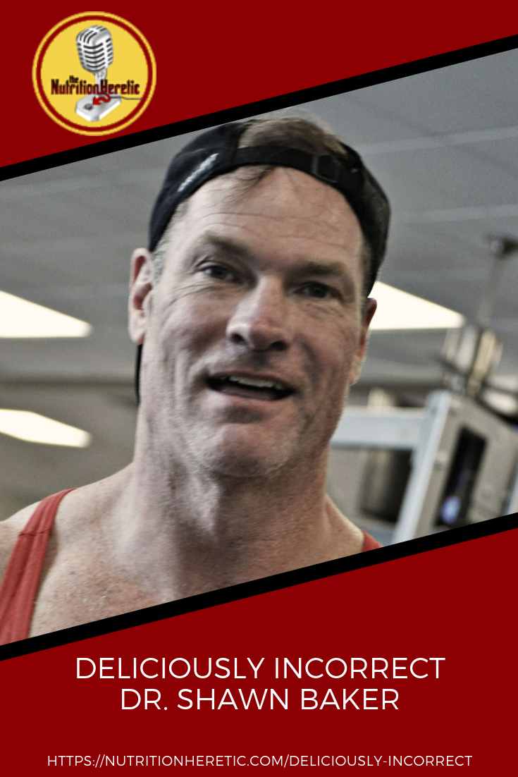 Deliciously Incorrect with Shawn Baker on the Nutrition Heretic podcast