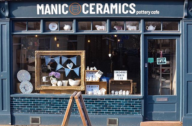New window display coming along well for upcoming Mother's Day in March ✨ as it takes up to 7* Day's for your pottery to be ready, plan ahead and get creative to show a mum you appreciate this year.